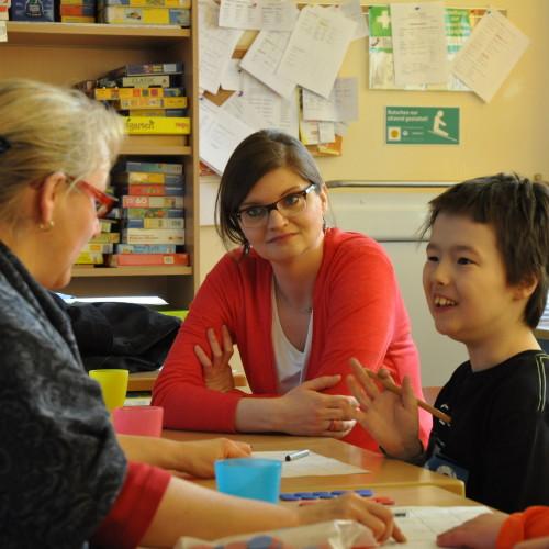 Besuch in der Buchholzer Waldschule