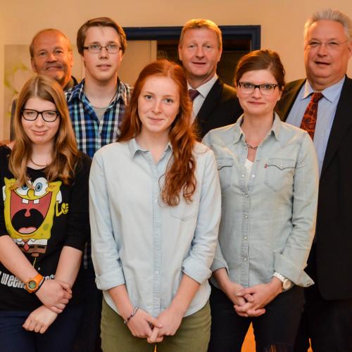 Pressekonferenz mit den Vertreterinnen und Vertretern der Duisburger MdLs beim Jugendlandtag