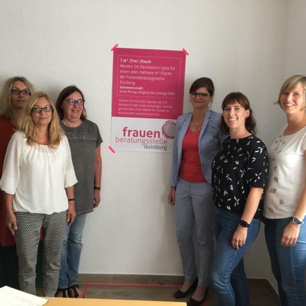 WAZ: Gegen Gewalt an Frauen: Beratungsstelle mit Spendenaktion
