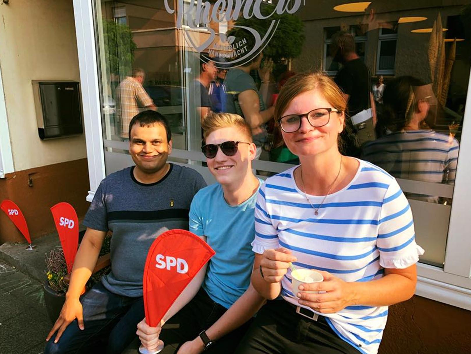 Auf ein Eis mit der SPD