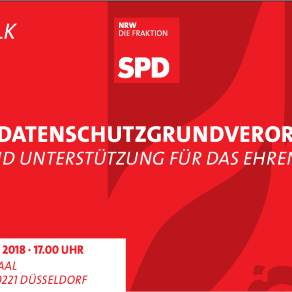 Landtagstalk: 180 Tage DSGVO