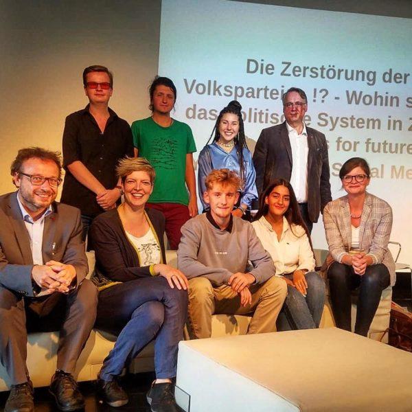 Diskussion: Klimaschutz, Social Media und der Einfluss auf die Parteien