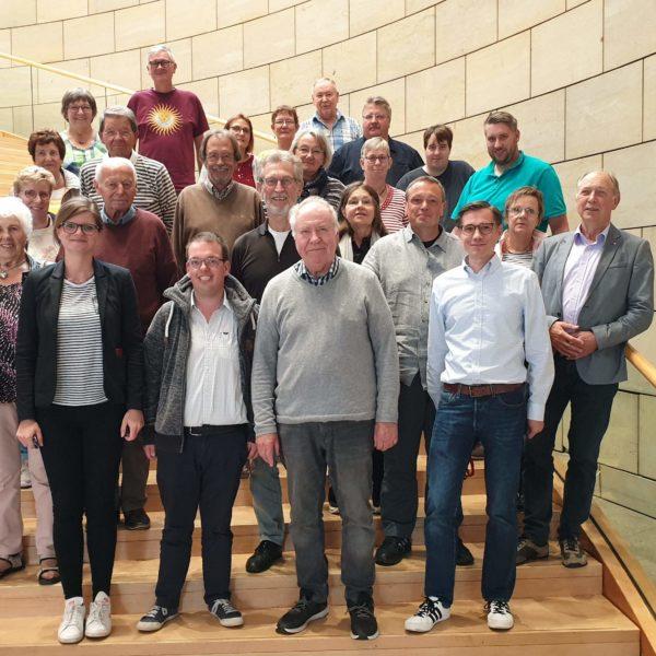 Die SPD Kerken zu Besuch im Landtag