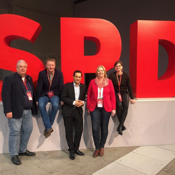 Lokalklick: Duisburger SPD auf dem Bundesparteitag