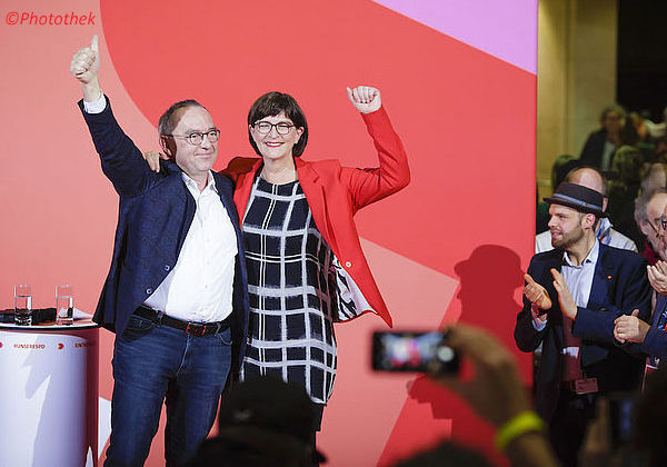 Spiegel Online-Interview: Die SPD Duisburg freut sich über Saskia Esken und Norbert Walter-Borjans als neue Parteichefs