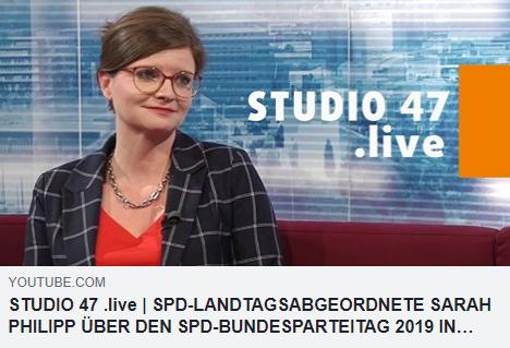 STUDIO 47 .LIVE: Ein guter SPD-Bundesparteitag 2019