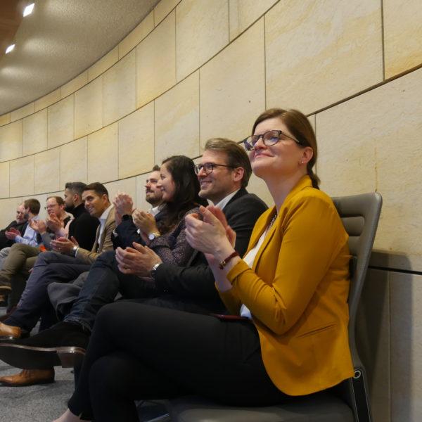 Besuch aus Duisburg beim Neujahrsempfang der SPD-Landtagsfraktion
