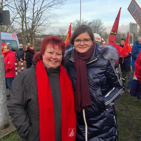Solidarität mit den Beschäftigten von Thyssenkrupp