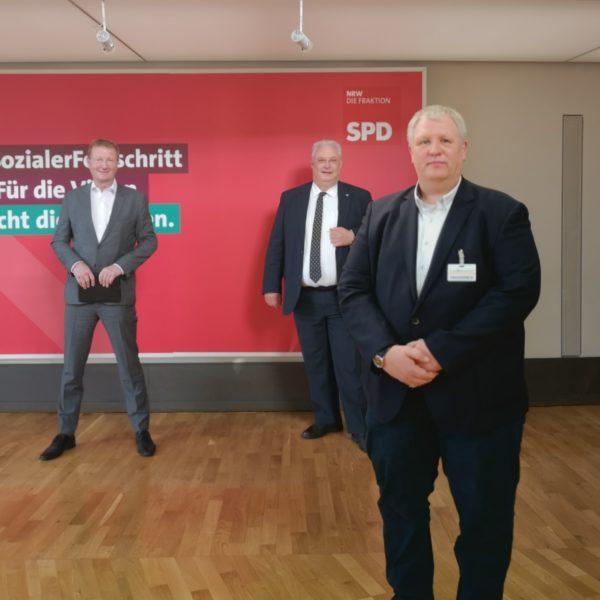 Die AWO Duisburg zu Gast im Landtag