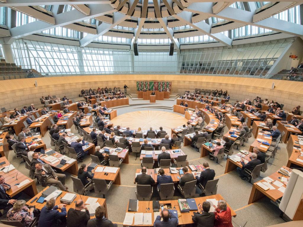 Landtag NRW Plenarsaal