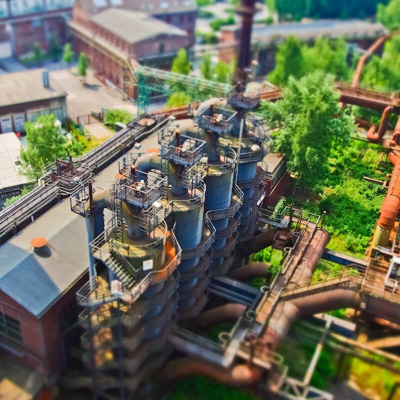 Stahlstadt Klimawandel Duisburg Stahl